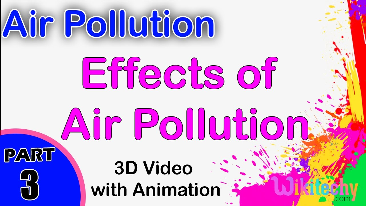 air pollution essay for kids Types of pollution and their effects environmental sciences essay  air pollution  if you are the original writer of this essay and no longer wish to have.