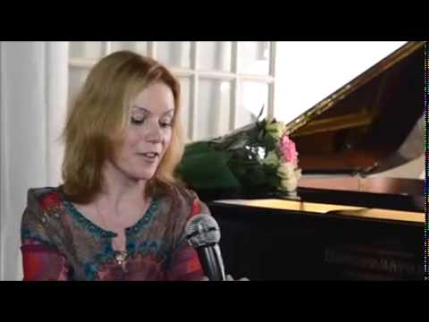 Interview de Valentina IGOSHINA pianiste au moulin de la Bellassière