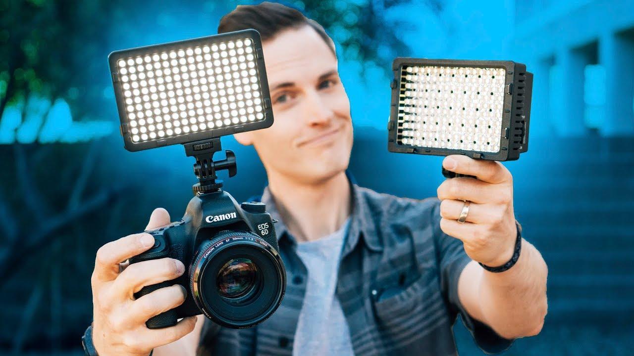 best cheap lighting for youtube videos under 25