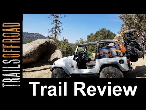 3N07A - San Bernardino Mine Trail Review And Guide In Big Bear California In 4K UHD