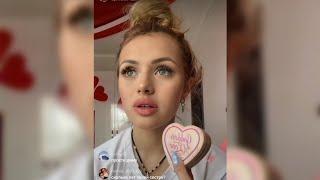 Катя делает повседневный макияж Трансляция в TikTok 12 мая