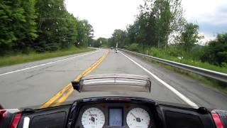 Catskill Mountains, NY Scenic Motorcycle Ride (Beautiful Scenery) HD
