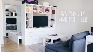 One of JLINHH's most viewed videos: NYC Apartment Tour + Q&A | Cost of living, Moving across country, Leaving family / friends