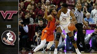 Virginia Tech vs. Florida State Basketball Highlights (2018-19)