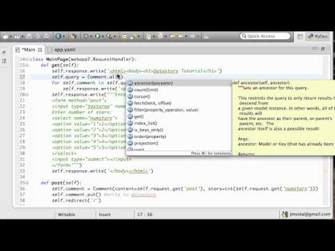 App Engine Datastore: Filter and Order