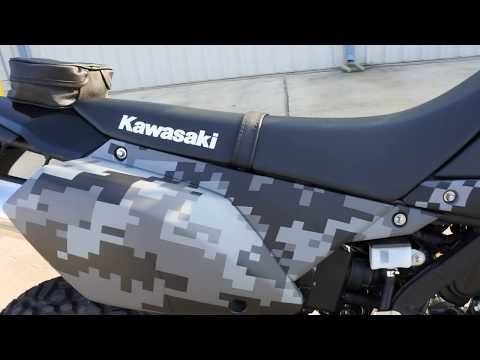 Sale $4,999: 2018 Kawasaki KLX 250 Matrix Gray Camo Overview and Review