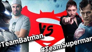#TeamBatman VS #TeamSuperman