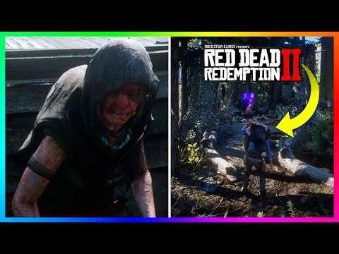 What Happens If You Bring The Witch To The Witch's Cauldron In Red Dead Redemption 2? (RDR2)