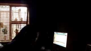 DJ TULZ HAVING FUN @ TULZIN STUDIOS 2014!!!!!!