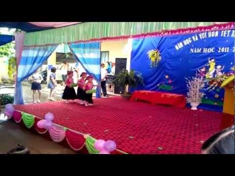 Trường Mầm Non Kim Sơn Hè 2012  {Múa Trống Cơm}