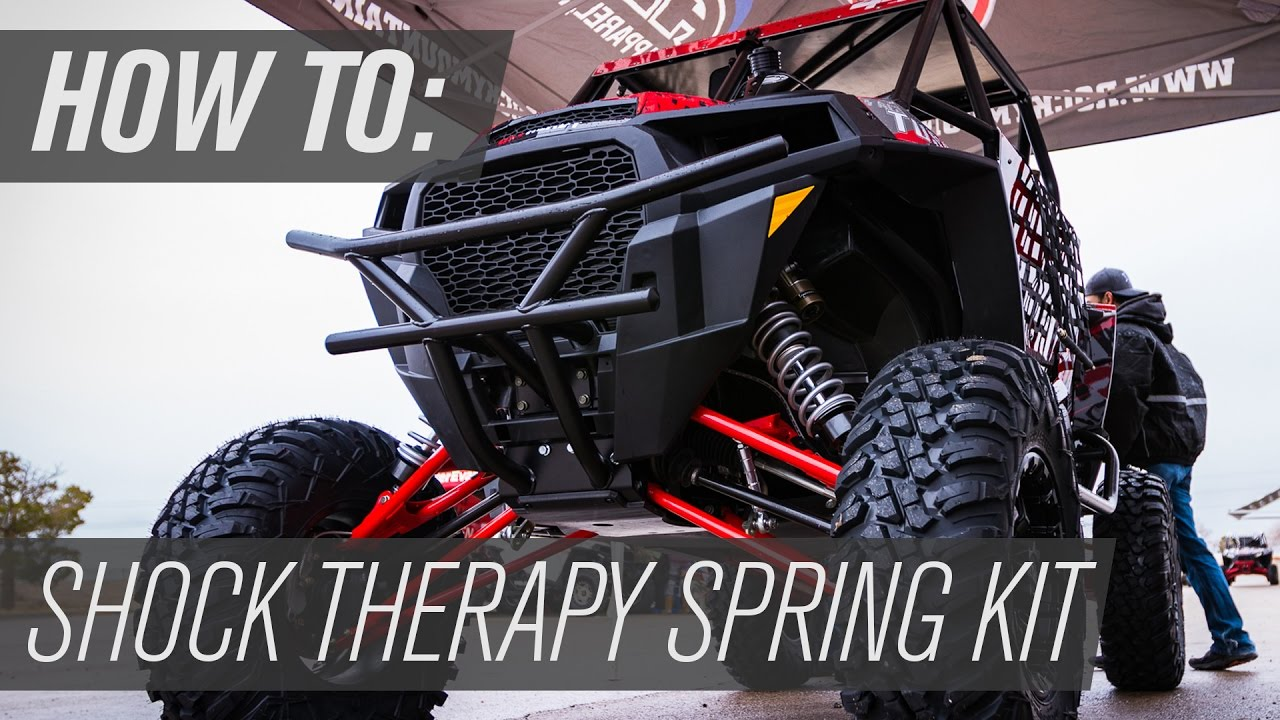 How To: Shock Therapy Spring Kit Install | RZR XP4 1000