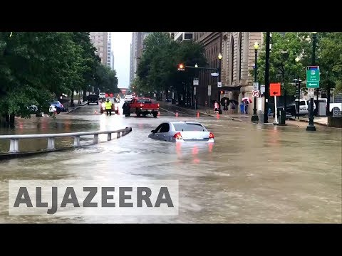 Tropical storm Harvey brings deadly floods to Houston