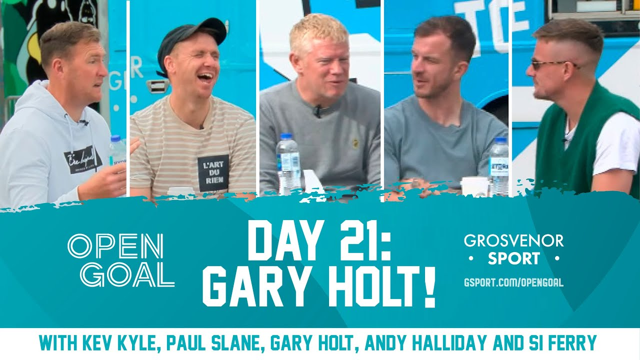 GARY HOLT   Day 21 Euros Daily Podcast