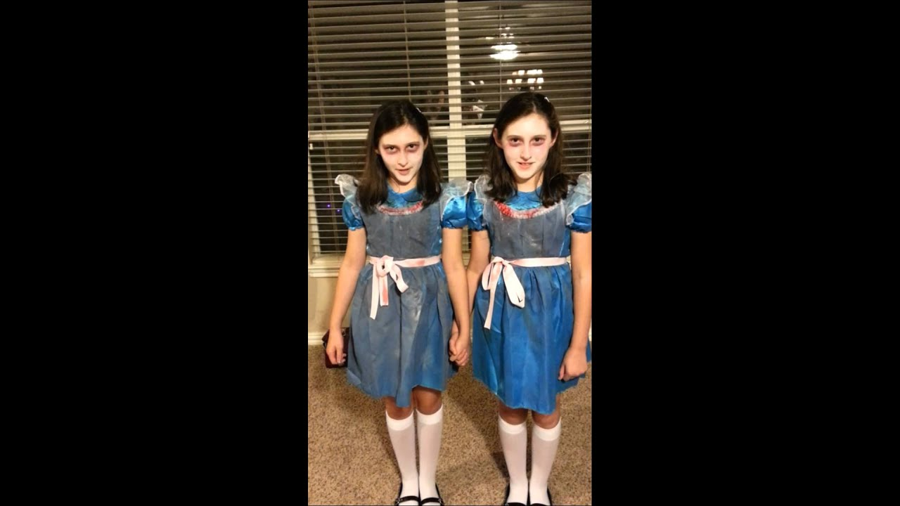 The Shining Twins - Halloween 2014  sc 1 st  YouTube & The Shining Twins - Halloween 2014 - YouTube