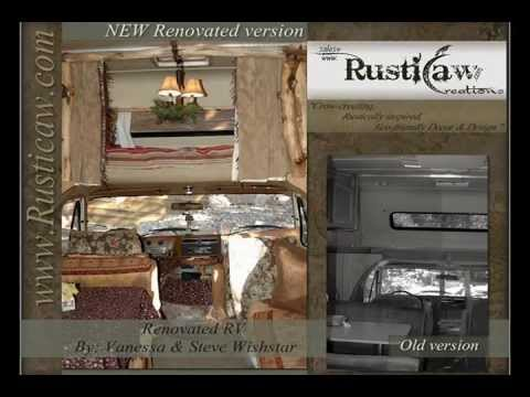 Rustically Renovated RV Rustic Tiny Home