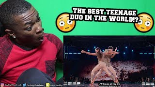 SEAN LEW & KAYCEE RICE WORLD OF DANCE!!!- REACTION