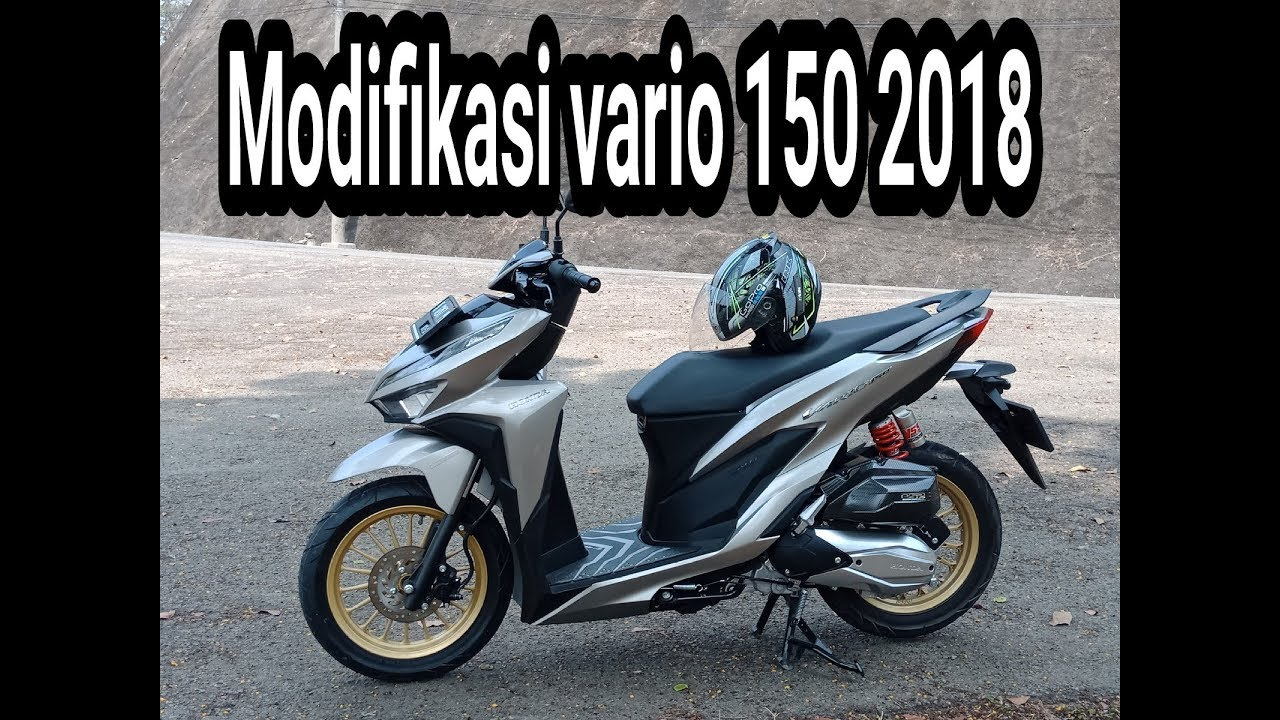 Modifikasi All New Vario 150 2018 Ll Nanda Risky Youtube