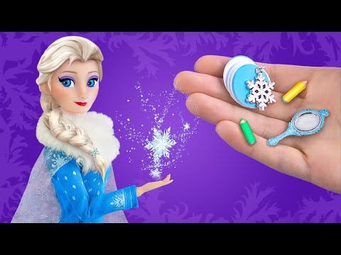 Tự Làm 11 Đồ Dùng Học Tập Và Thủ Công Phong Cách Frozen