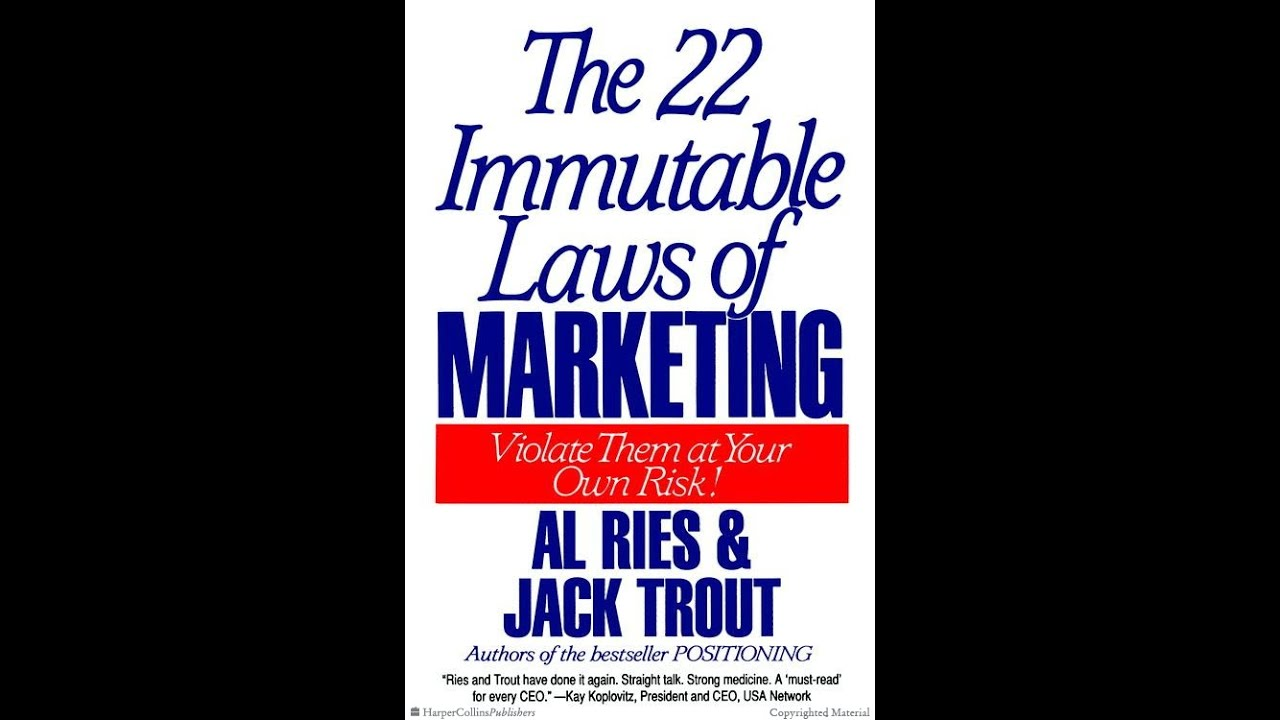 Laws of marketing ebook immutable 22