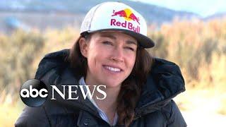 US Olympic ski jumper Sarah Hendrickson on overcoming injury to compete again