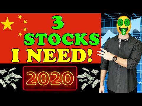 3 Chinese Stocks I Really Want to Buy in 2020!