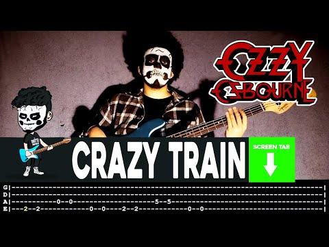 Ozzy Osbourne - Crazy Train  (Bass Cover by Cesar Dotti W/Tab)