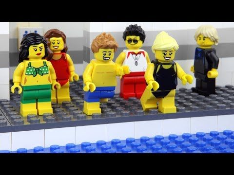 Lego Swimming Pool