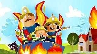 РАЗВИВАЮЩИЙ МУЛЬТФИЛЬМ ПОЖАРНАЯ МАШИНКА И и Маленькие Пожарные - МУЛЬТИКИ ПРО МАШИНКИ ДЛЯ ДЕТЕЙ