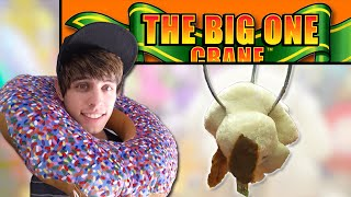 The Secret to Winning at the BIG Claw Machine! | Journey to the Claw Machine | Matt3756