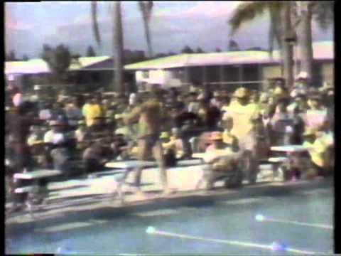 1976 Superstars Final - Swimming heats