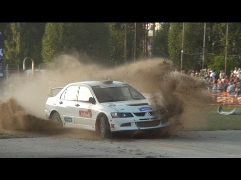 SS 1/3 jumps of Autoplius 300 Lakes Rally 2013