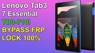lenovo L13d1p31 frp   Lenovo Tab 3 7 Frp Lock Bypass 100% Working Solution   Lenovo TB3-710i