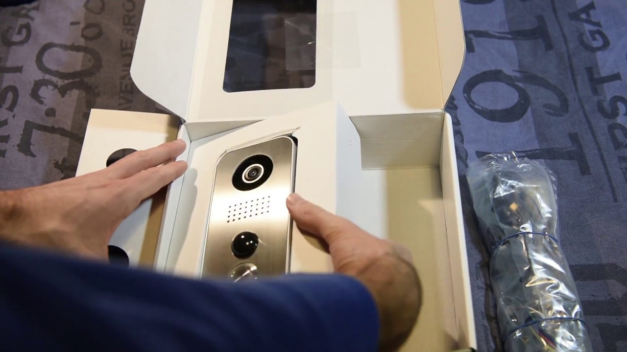 Unboxing Doorbird D101s Ip Video Door Station Strato