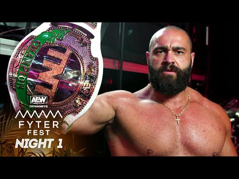 The TNT Champion Miro Has a Story With a Can't Miss Ending | AEW Fyter Fest Night 1, 7/14/21