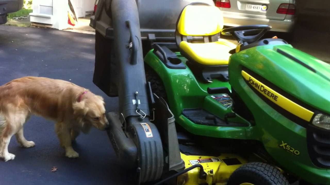 John Deere X520 Garden Tractor Youtube