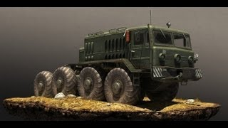 Spin Tires  (Amazing Physics) (Kamaz) HAVOK Engine Game Full HD Gamepaly 1080p (GTX560TI)