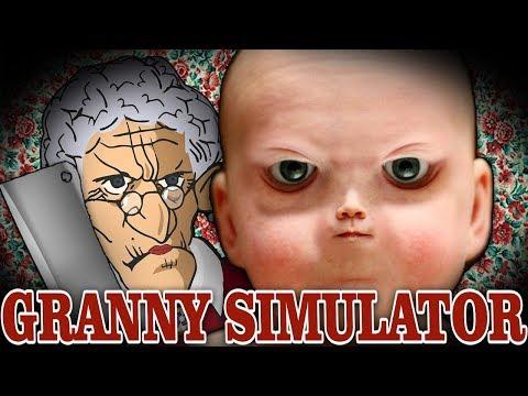 GRANNY SIMULATOR | WE SET THE BABY PUNTING WORLD RECORD!