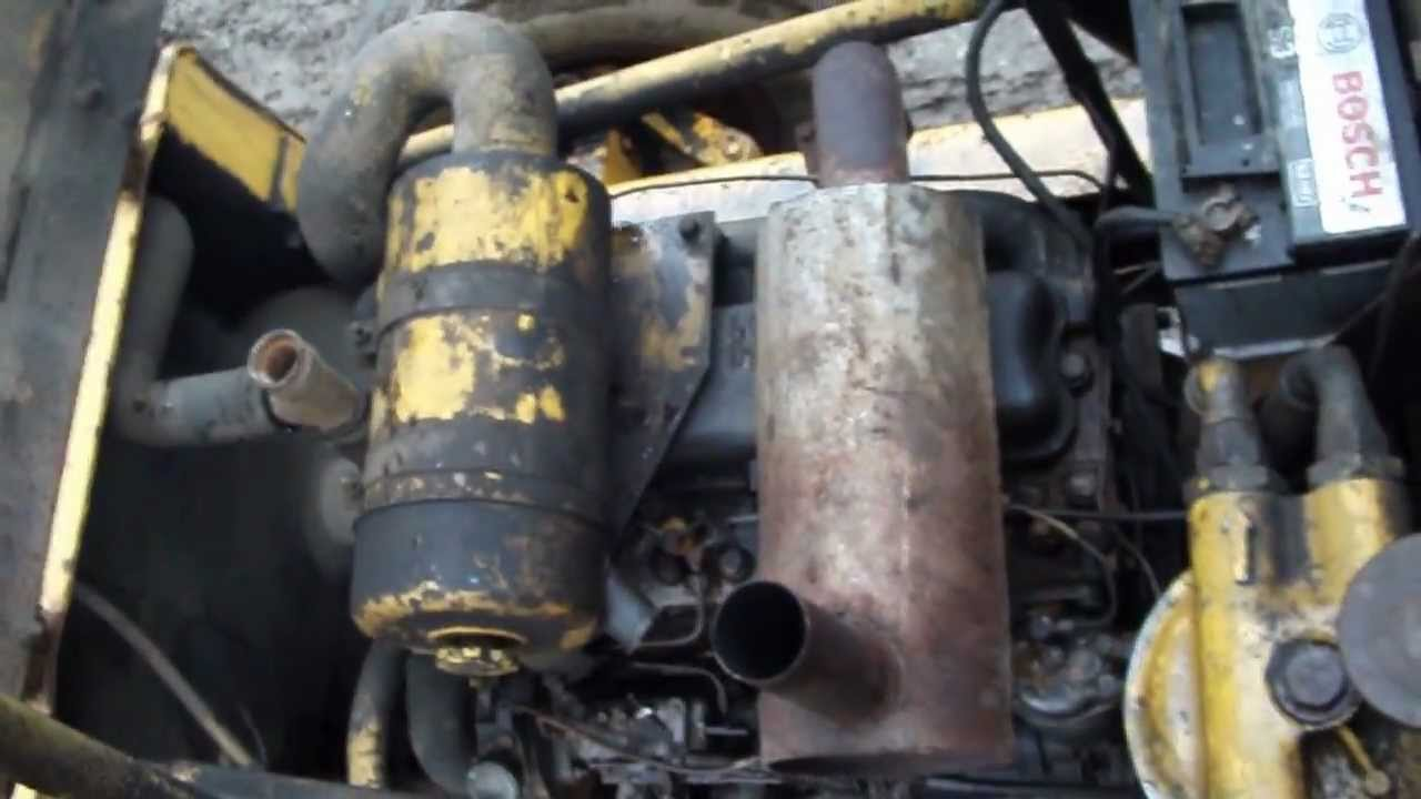 Jcb 3cx 4cylinder Perkins 4236 Engine Youtube 940 Wiring Schematics