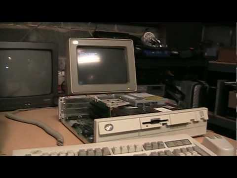 1990 Ibm Personal System 2 Model 30 286 Youtube