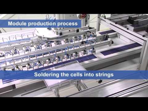 Conergy PowerPlus Solar Panel Manufacture