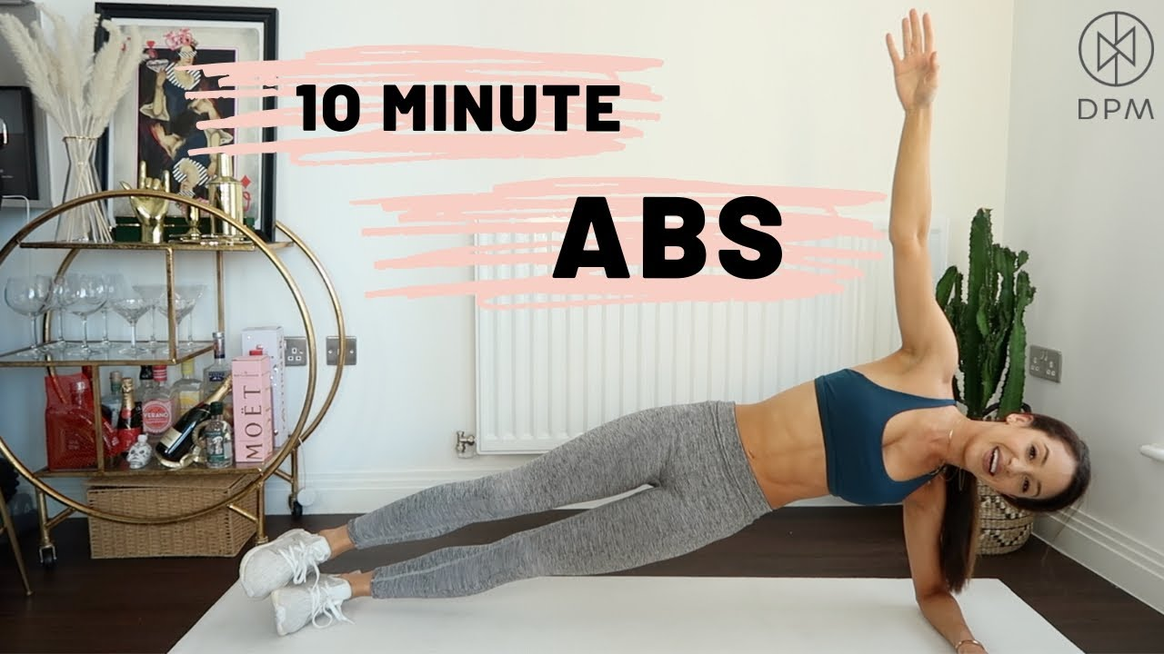 GET ABS IN 10 MINUTES   Danielle Peazer - YouTube