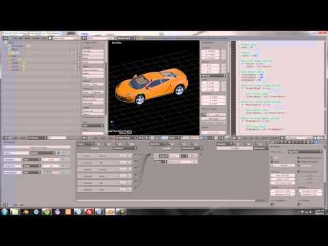 How to Make a Car Game in Blender 2.6 V3 HD