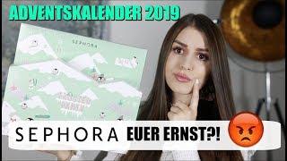 Baaahhhh 🤢 Sephora, euer Ernst? Adventskalender 2019