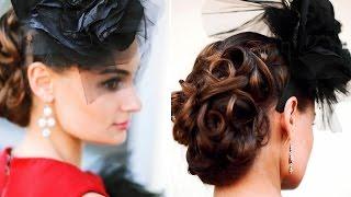 Свадебные_прически_с_распущенными_волосами. Свадебные_прически_с_короткой_челкой