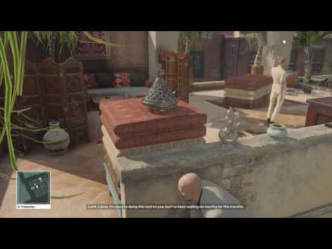 Hitman Episode 3 - Marrakesh - Tools of the Trade Trophy / Achievement Guide