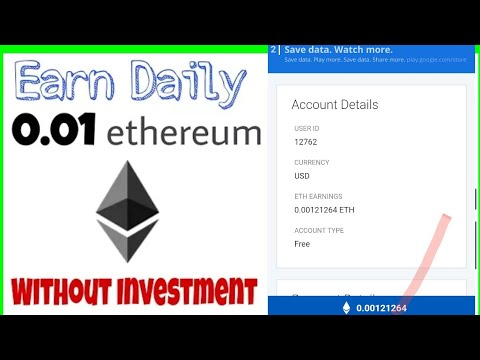 Earn 1 Bitcoin Daily Without Investment Ethereum Mining How