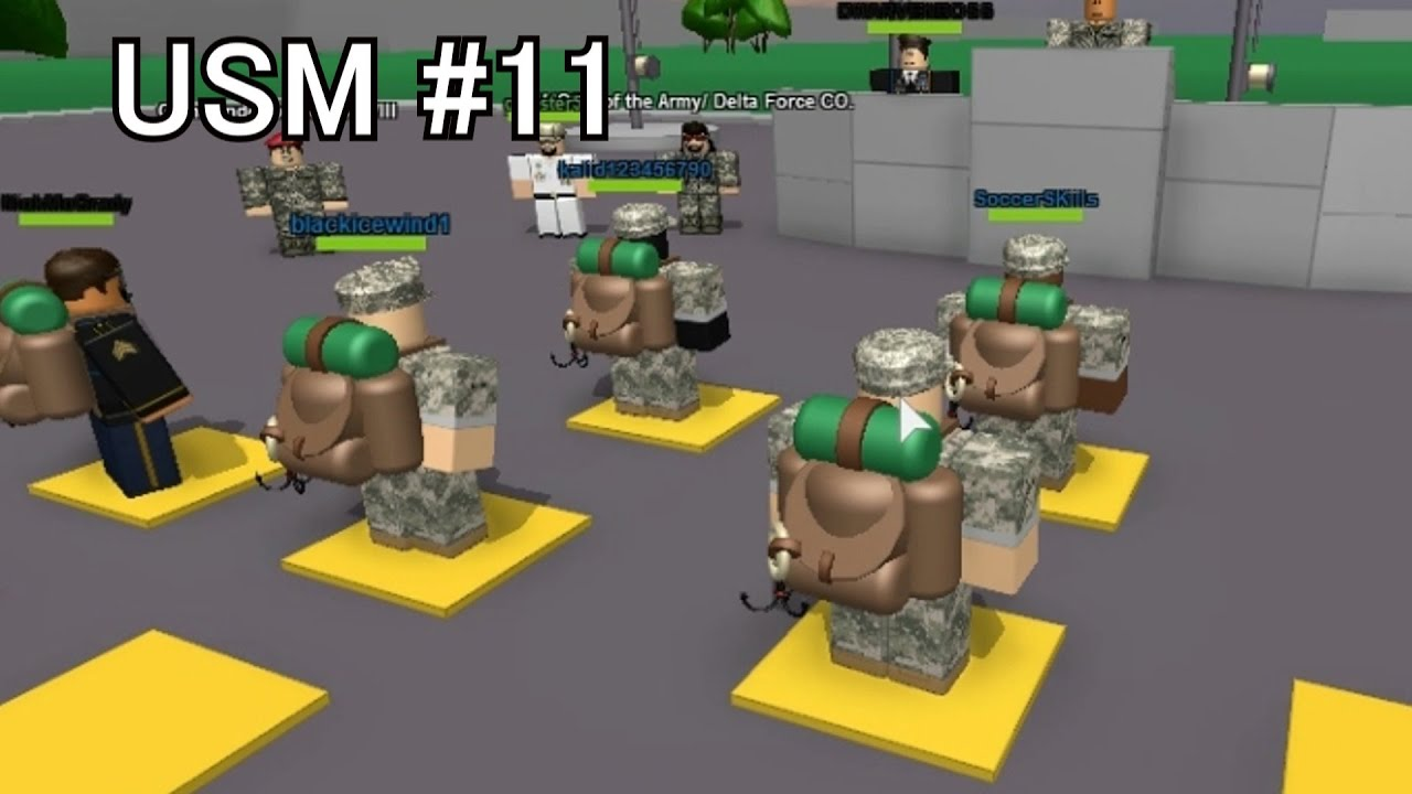 ROBLOX [USA] #11 United States Military Training