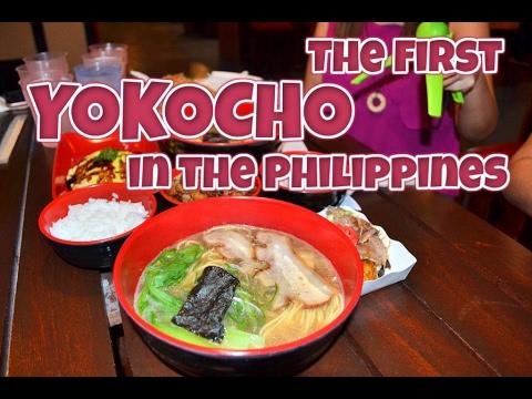 Yokocho Japanese Food Court Menu