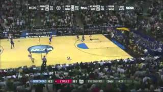 2011 NCAA Tournament - Morehead State Upsets Louisville on Three Point Buzzer-Beater (#13 over #4)