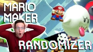 Spent Over 2 Hours On A 10 Second Level...  Mario Maker Randomizer 3